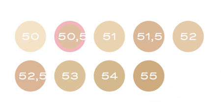 BOURJOIS Podkład Healthy Mix 50 Rose Ivory 30ml