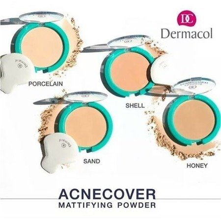 DERMACOL Acnecover Puder Matujacy 02 Shell