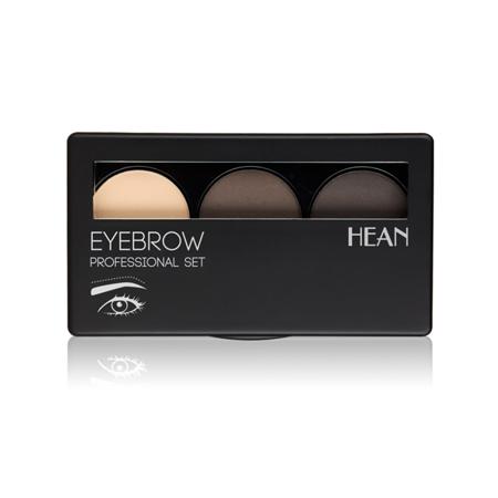 HEAN Eyebrow Profesional Paleta Cienie do Brwi  Set 2