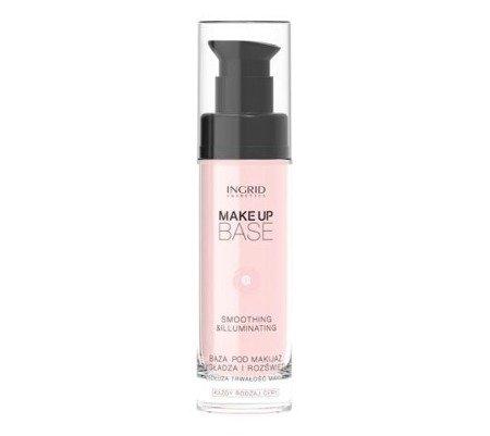 INGRID Make Up Base Baza Pod Makijaż Wygładzająco-rozświetlająca 30ml