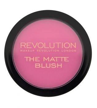 Makeup Revolution The Matte Blush Matowy Róż Do Policzków DARE