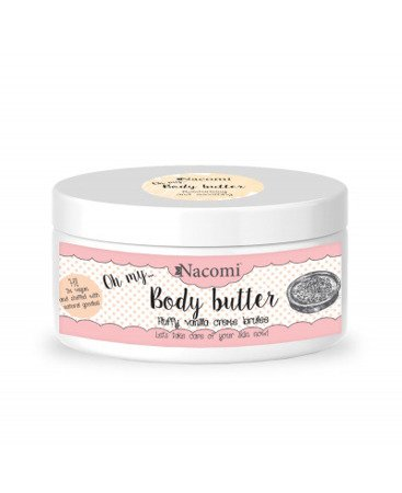 NACOMI Masło Do Ciała-Waniliowe Crème Brulee 100ml