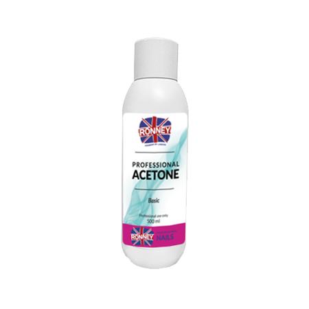 RONNEY - Aceton Bezzapachowy ACETONE BASIC  500 ml